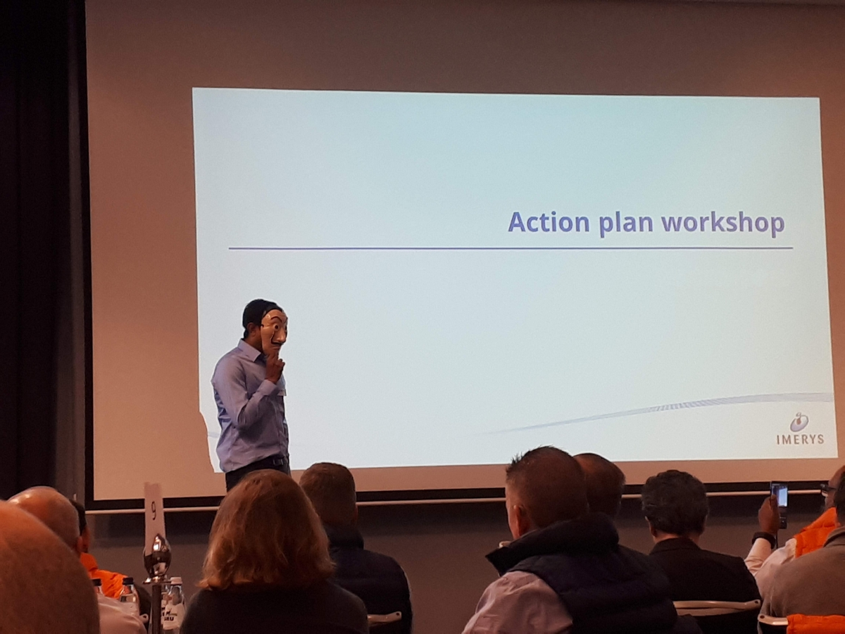 Our colleague leads the Action Plan Workshop
