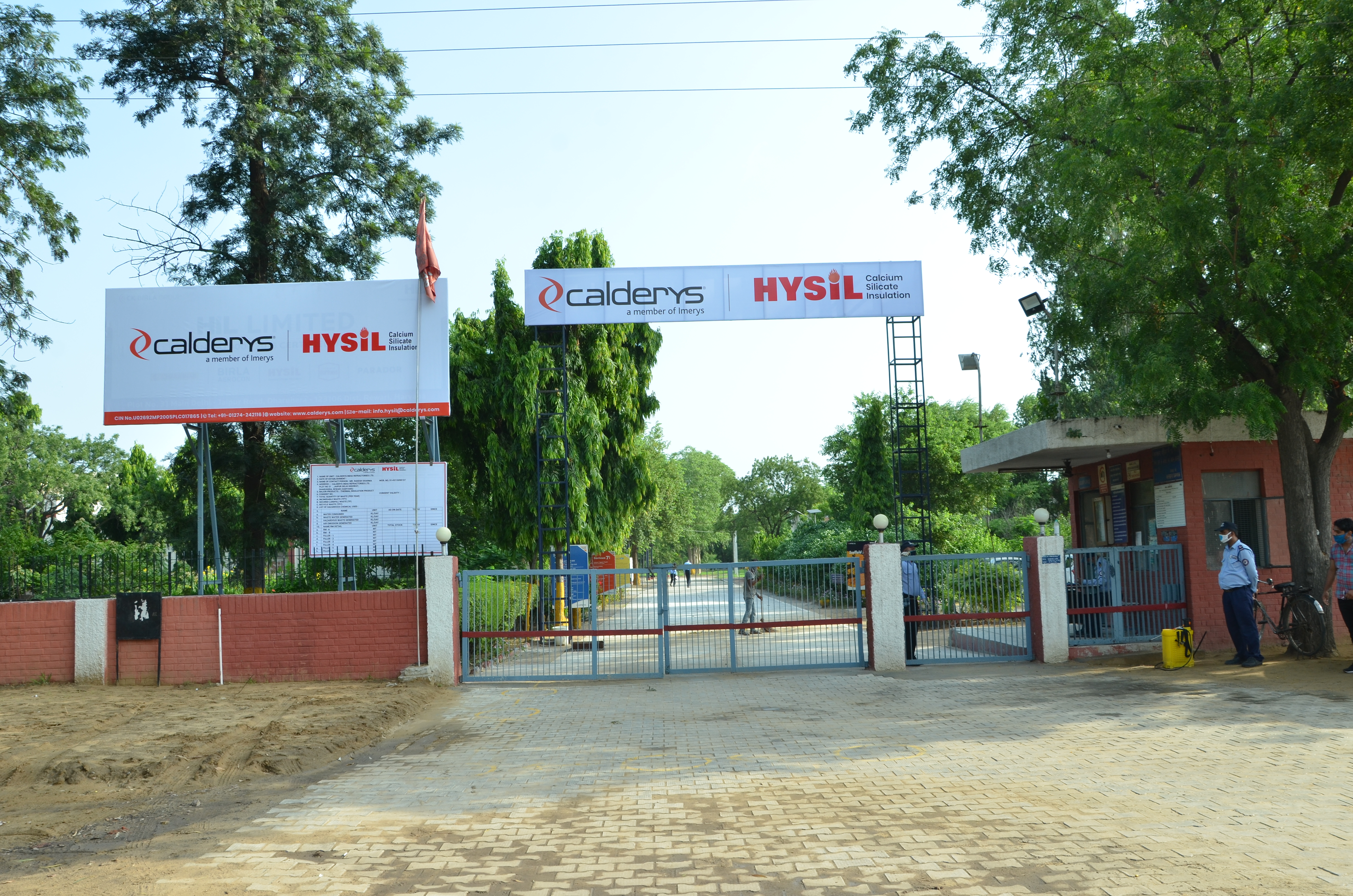 The Hysil plant after the acquisition