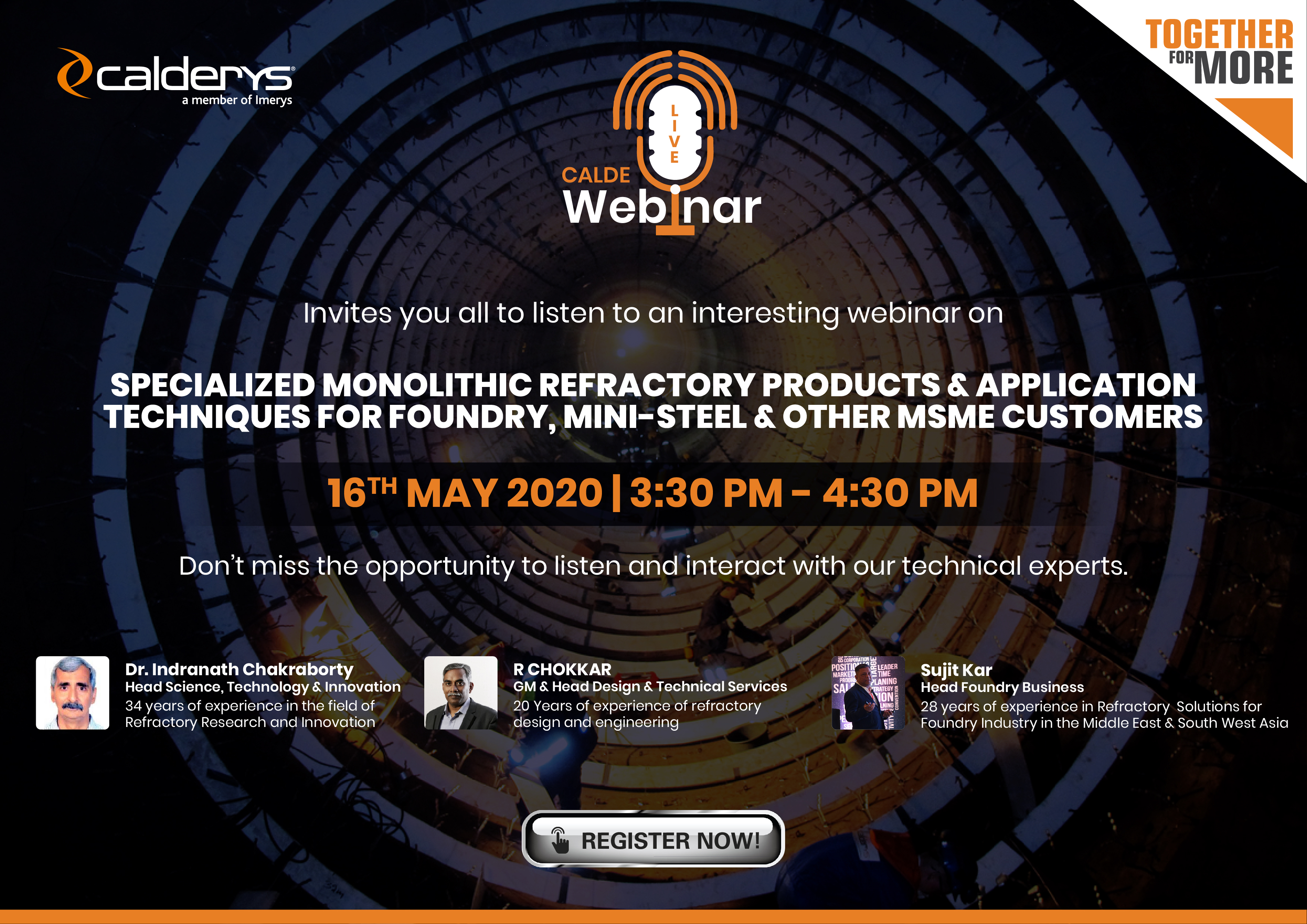 Calde Webinar image for Foundry