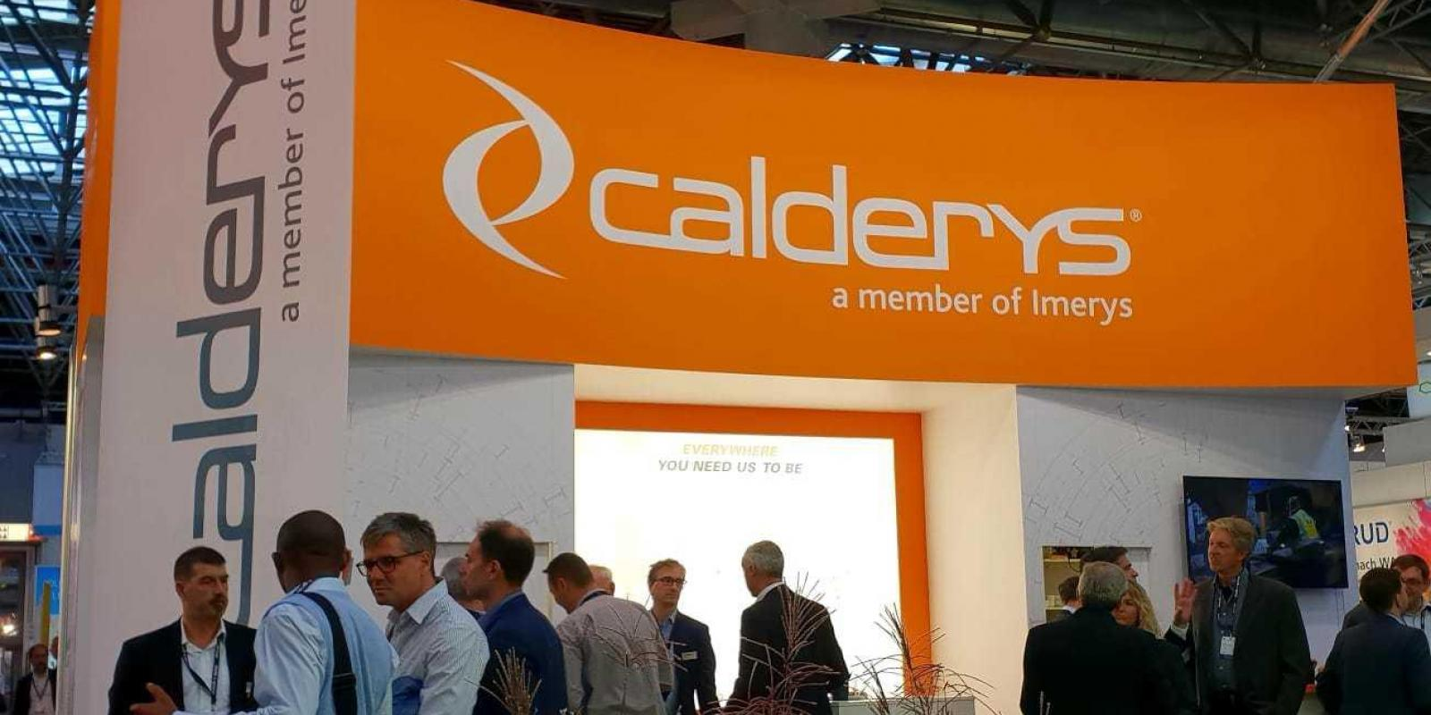 Calderys Germany at Aluminium 2018 show
