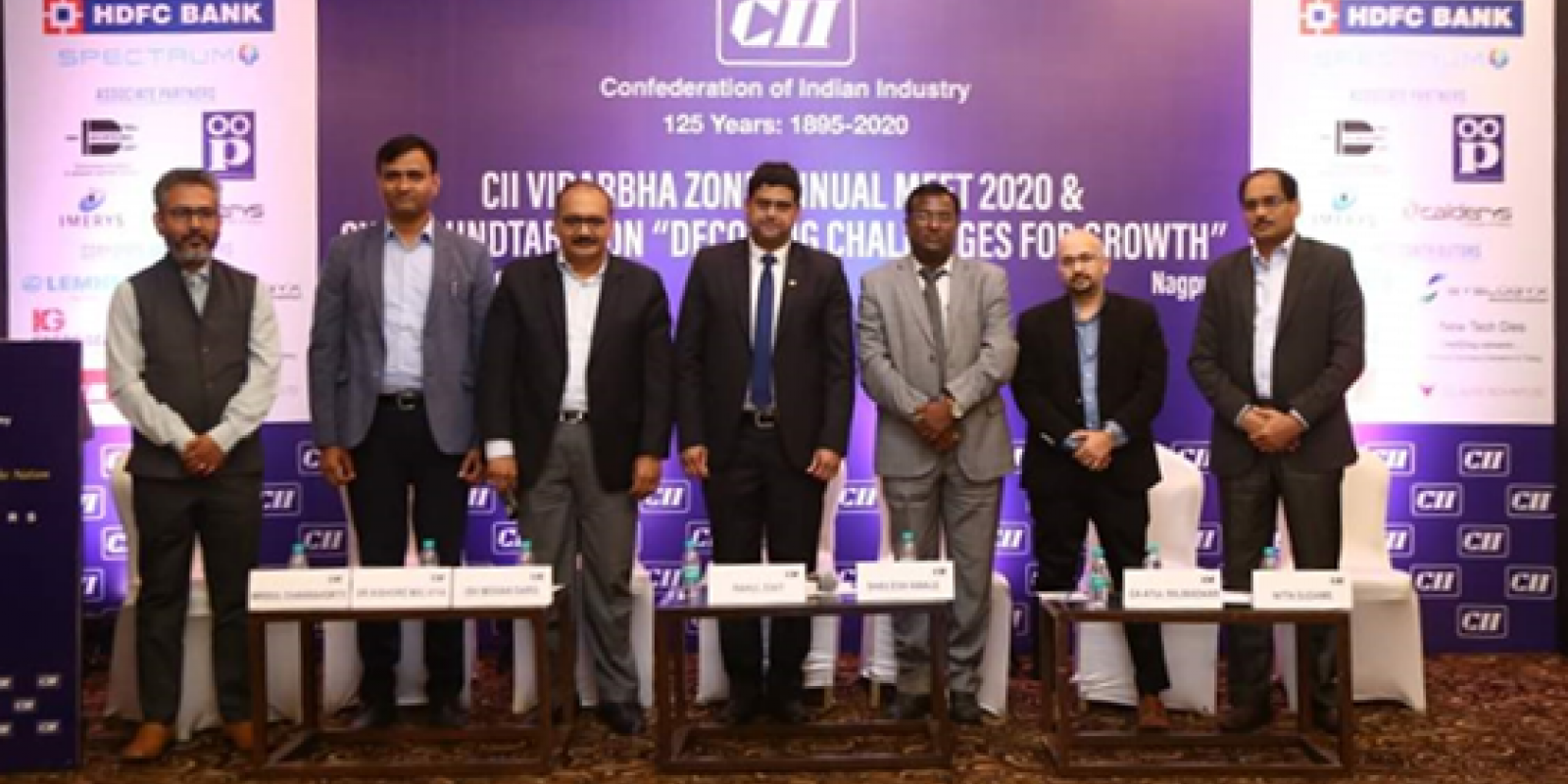 Ish Mohan Garg and participants at CII CXO Roundtable Conference