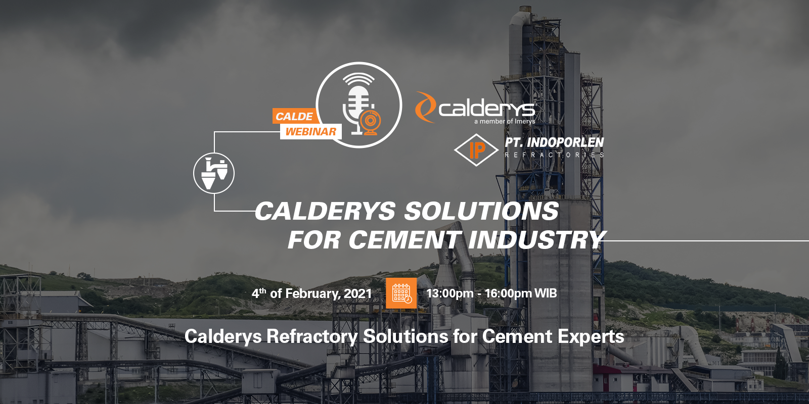 Calde Webinar: Solutions for Cement Industry