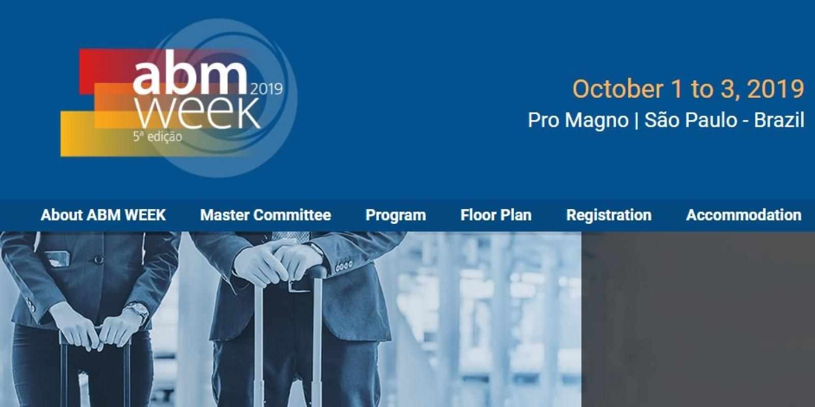 Calderys will be at ABM Week 2019 in Brazil