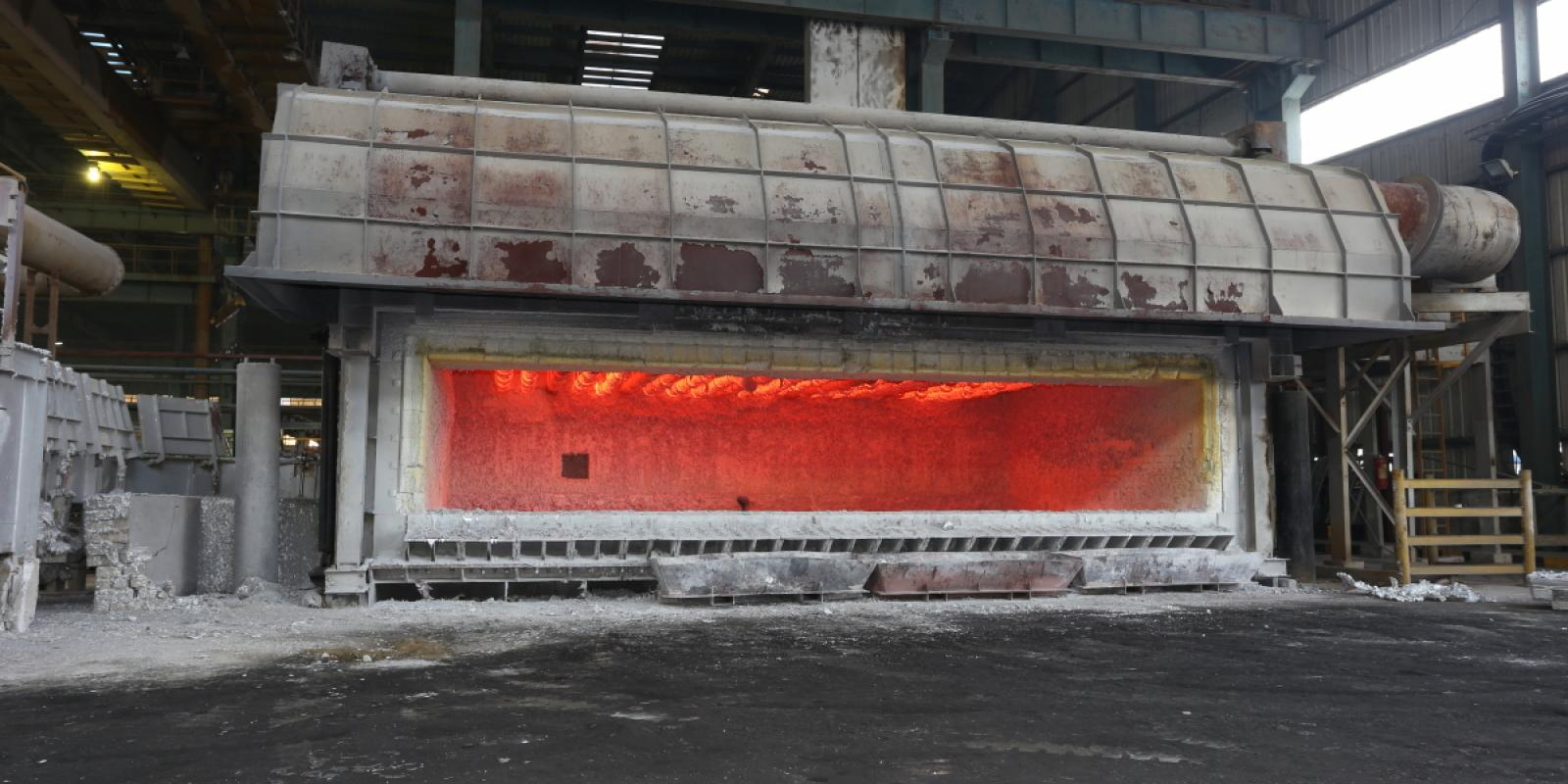 Aluminium Furnace Photo