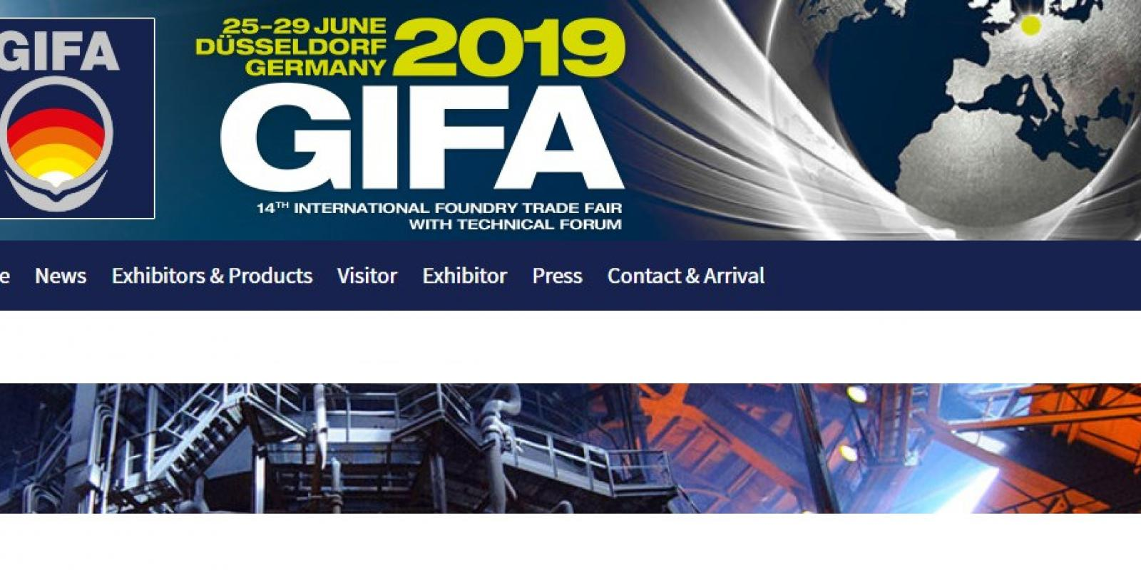 GIFA & METEC: 2019 Foundry & Metalcasting Trade Fairs in Germany