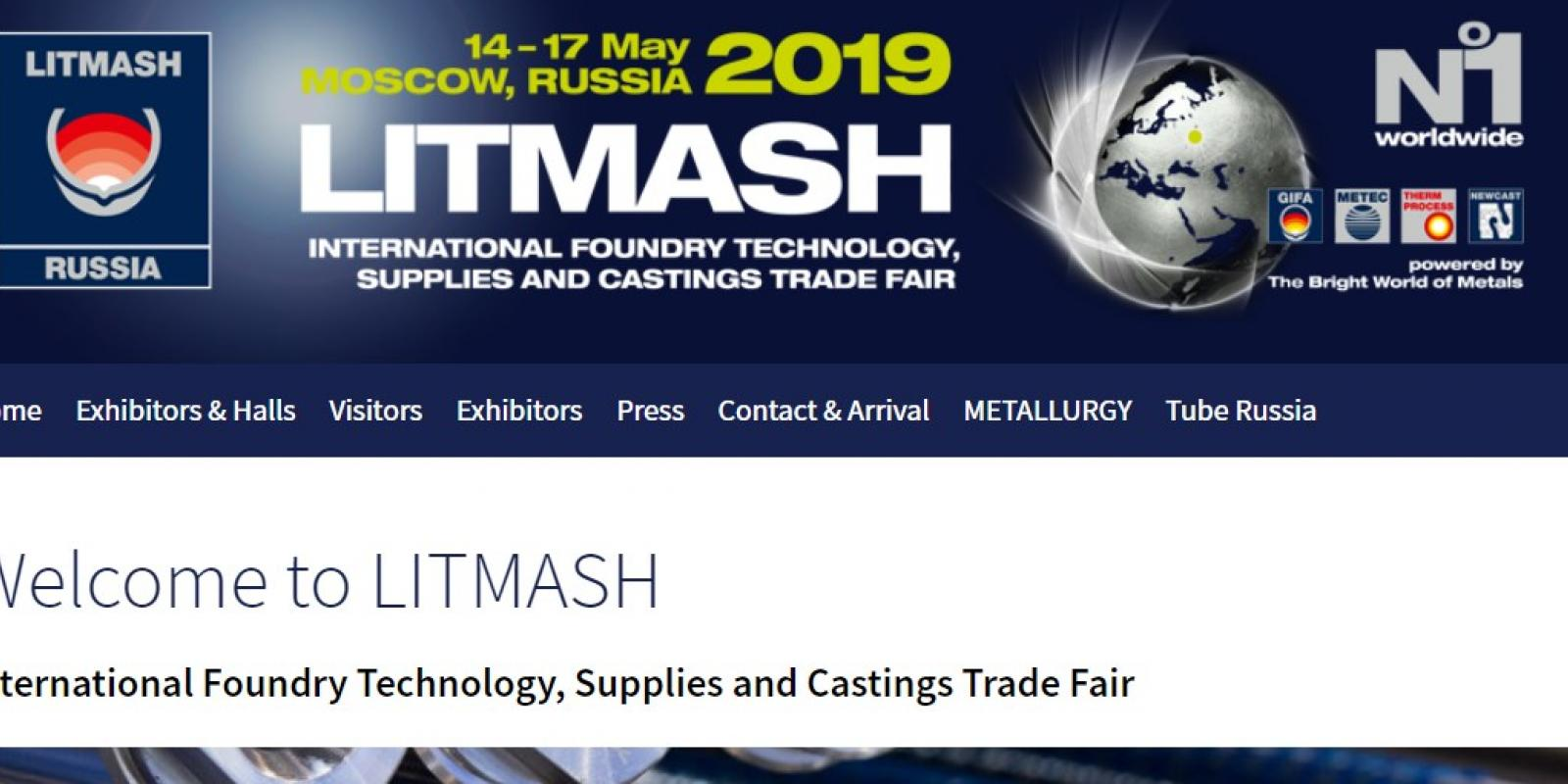 Calderys attending LITMASH Foundry Trade Fair