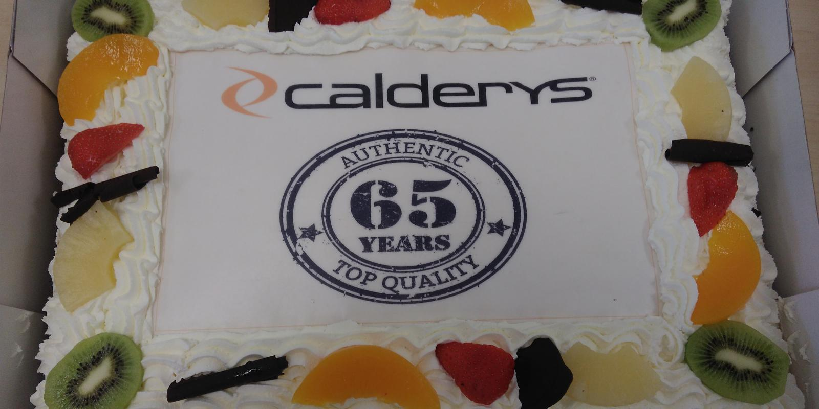Happy 65th Birthday to Calderys in the Netherlands