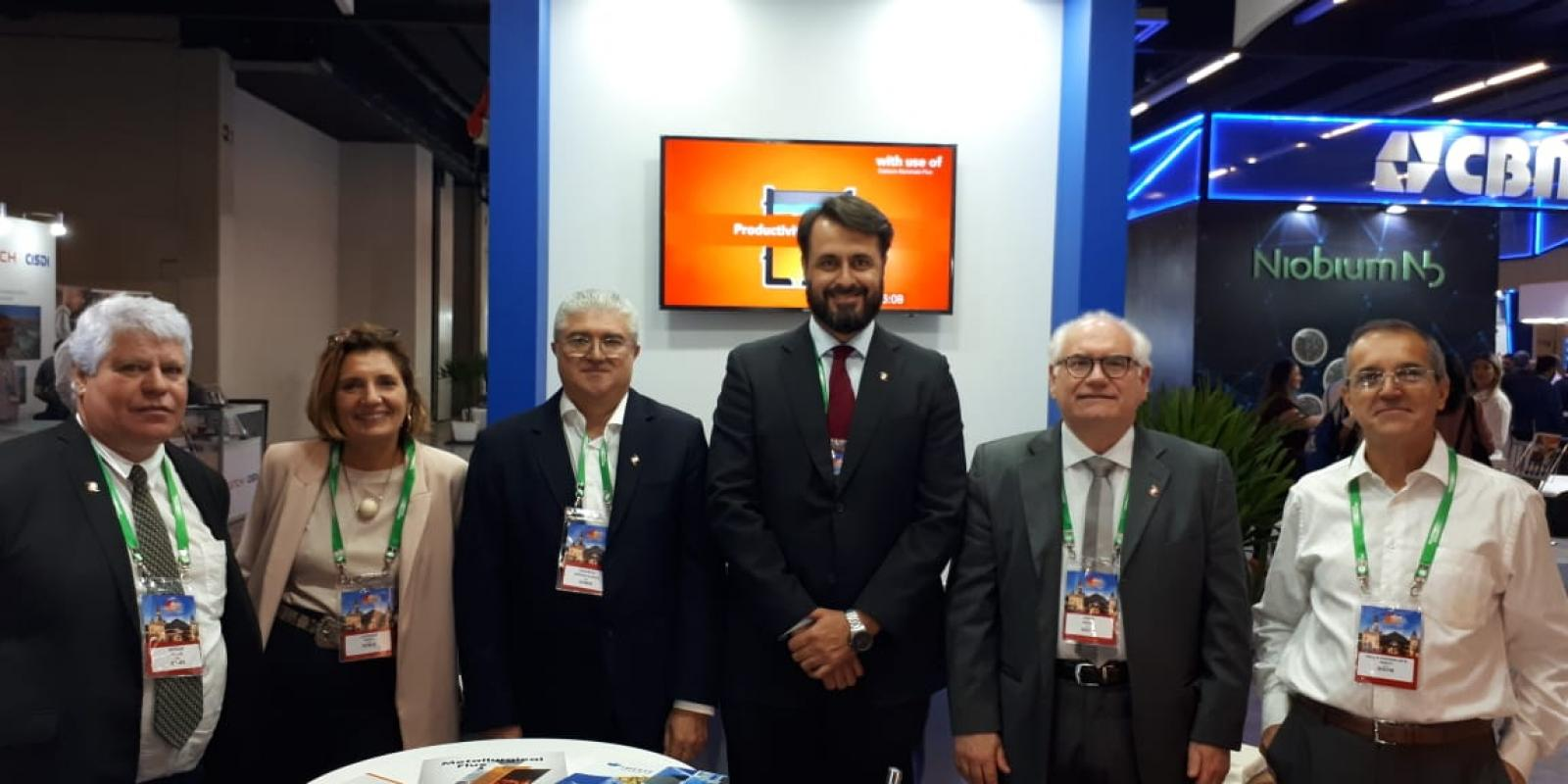 Calderys and Imerys Team at ABM Week 2019 in Brazil