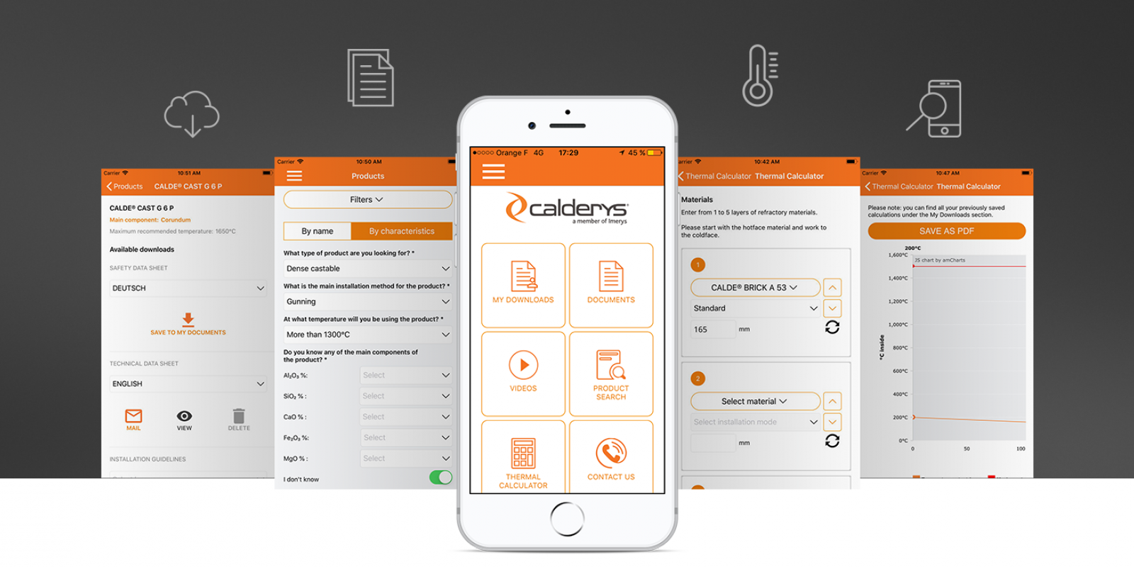 Calderys Mobile App - Welcome to CaldeTools