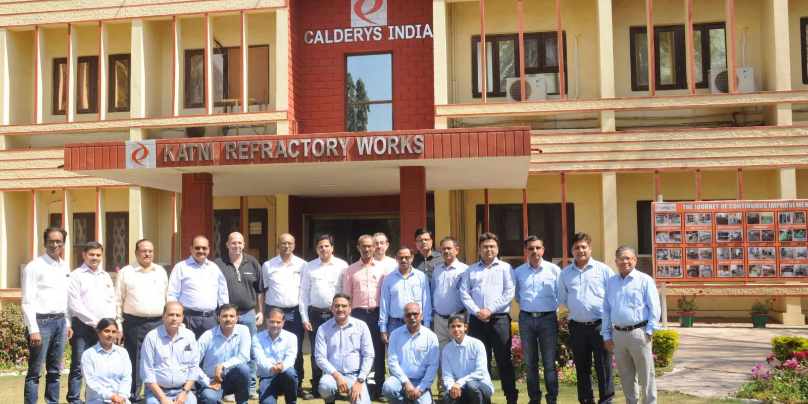 Calderys India Katni lances plant to serve the steel industry