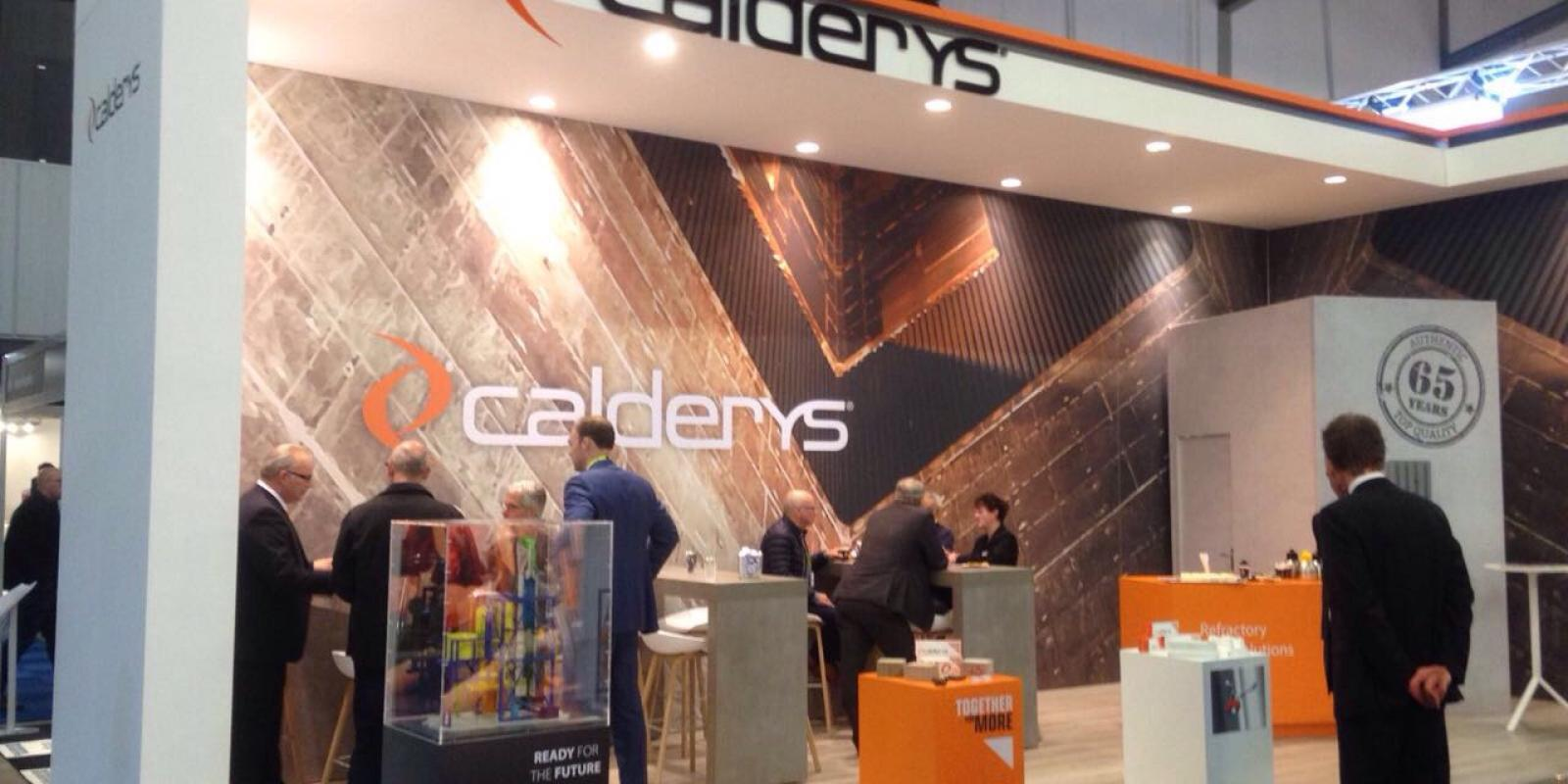 Calderys at Maintenance Trade Show Antwerp