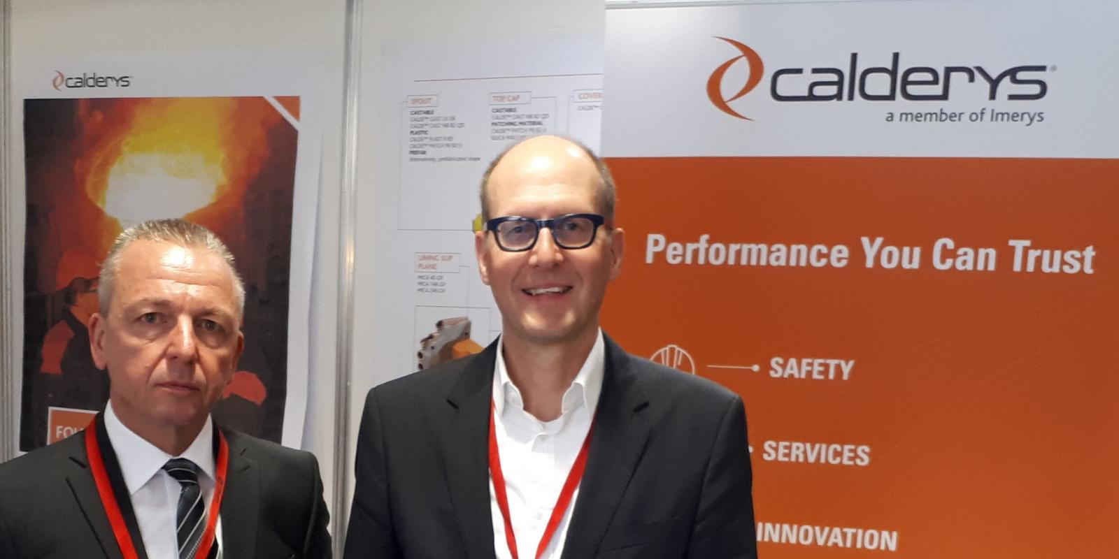 Calderys Foundry and Aluminium experts at WFO Technical Forum Portoroz 2019