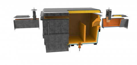 Runners and Treatment Box - Aluminium Refractory Solutions