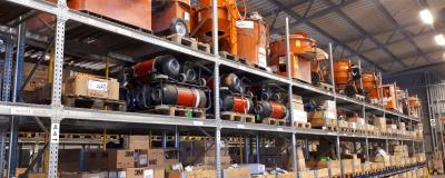Maintenance - Machine Storage at Calderys