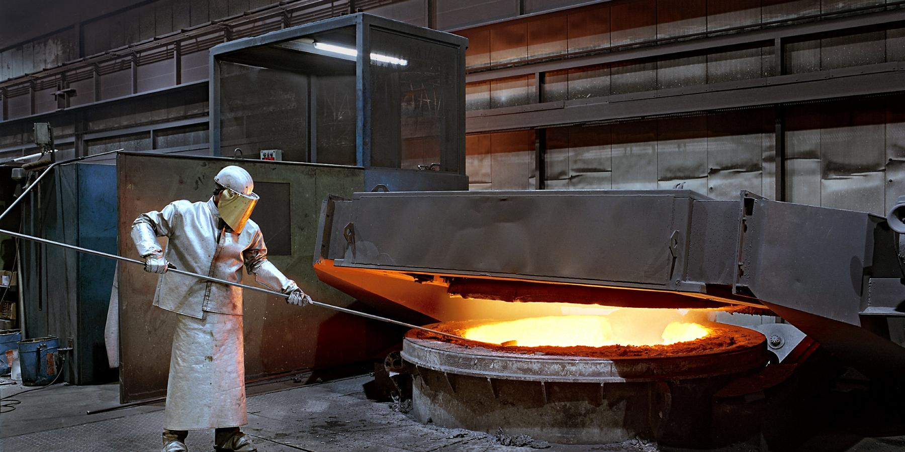 Crucible Furnace - Foundry